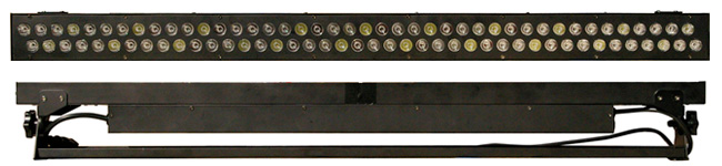 LED Bar-843W 正面と背面