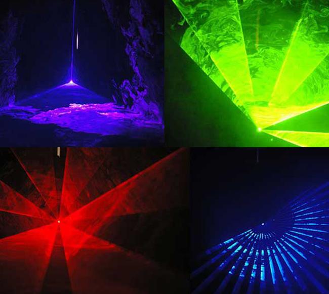 Scan-7 RGBレーザーパターン
